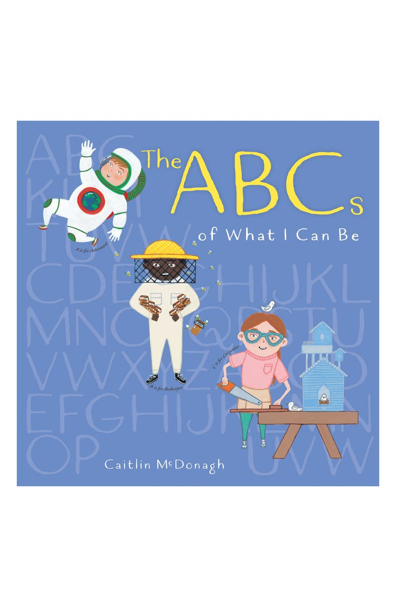 PENGUIN RANDOM HOUSE 'The ABCs of What I Can Be' Book, Main, color, LIGHT/ PASTEL BLUE