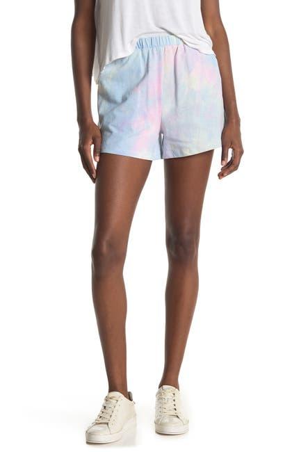 Image of Lush Tie Dye Print Shorts