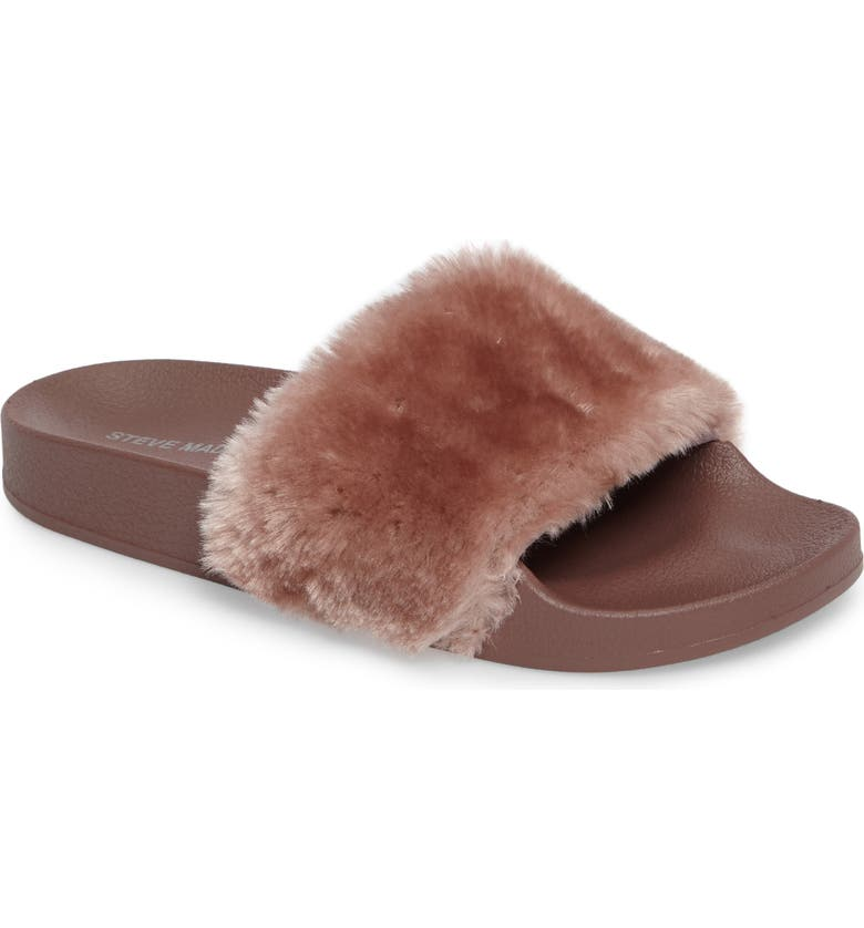 STEVE MADDEN Softey Slide, Main, color, 502