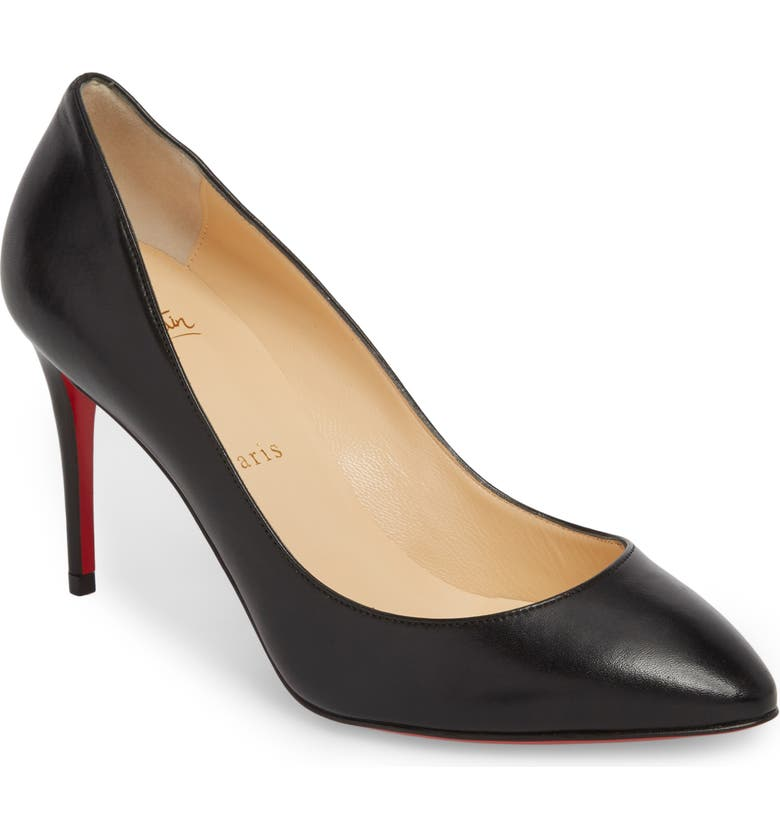 CHRISTIAN LOUBOUTIN Eloise Pointy Toe Pump, Main, color, BLACK