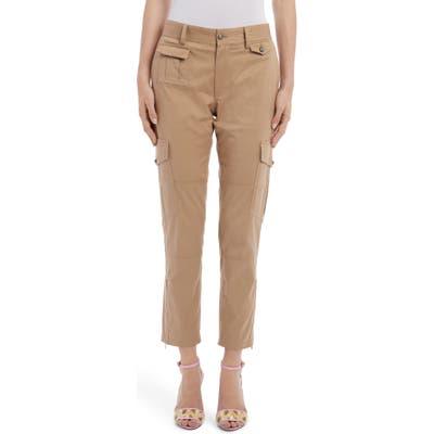 Dolce & gabbana Straight Leg Cargo Pants, US - Beige