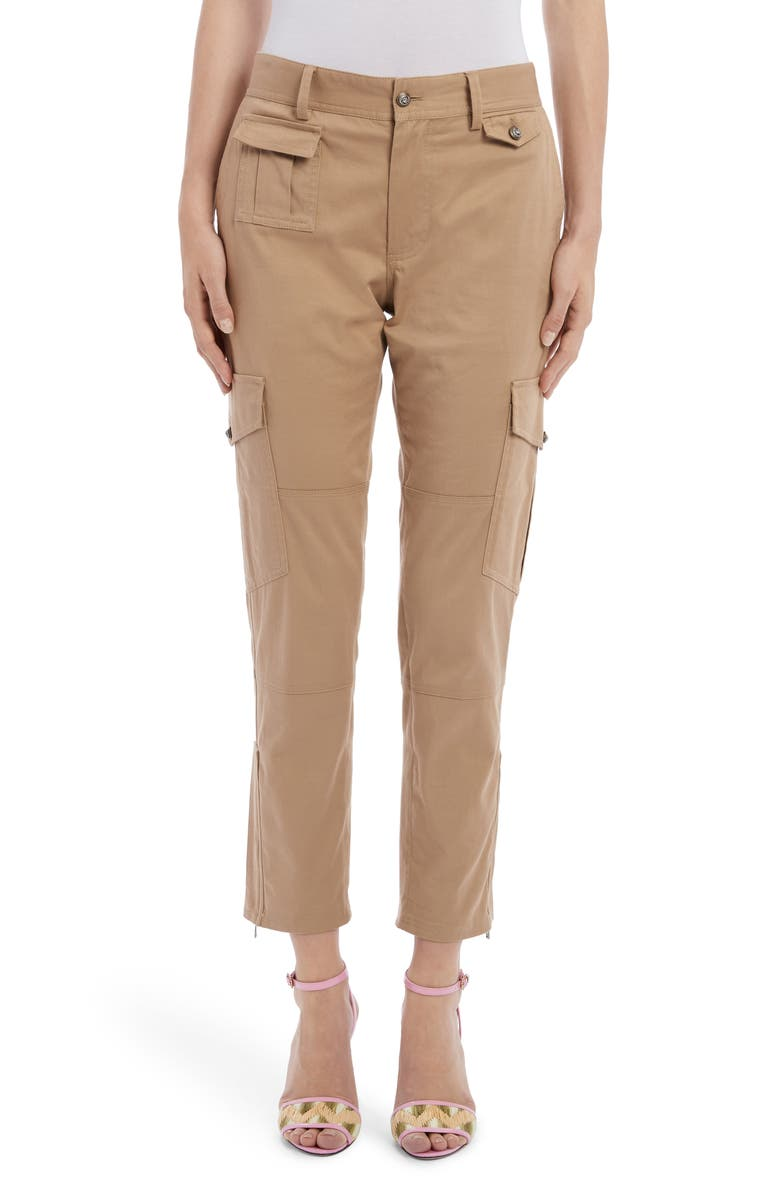 DOLCE&GABBANA Straight Leg Cargo Pants, Main, color, 268