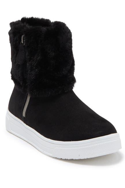 Image of Steve Madden Harmoni Faux Fur Cuff Sneaker Boot