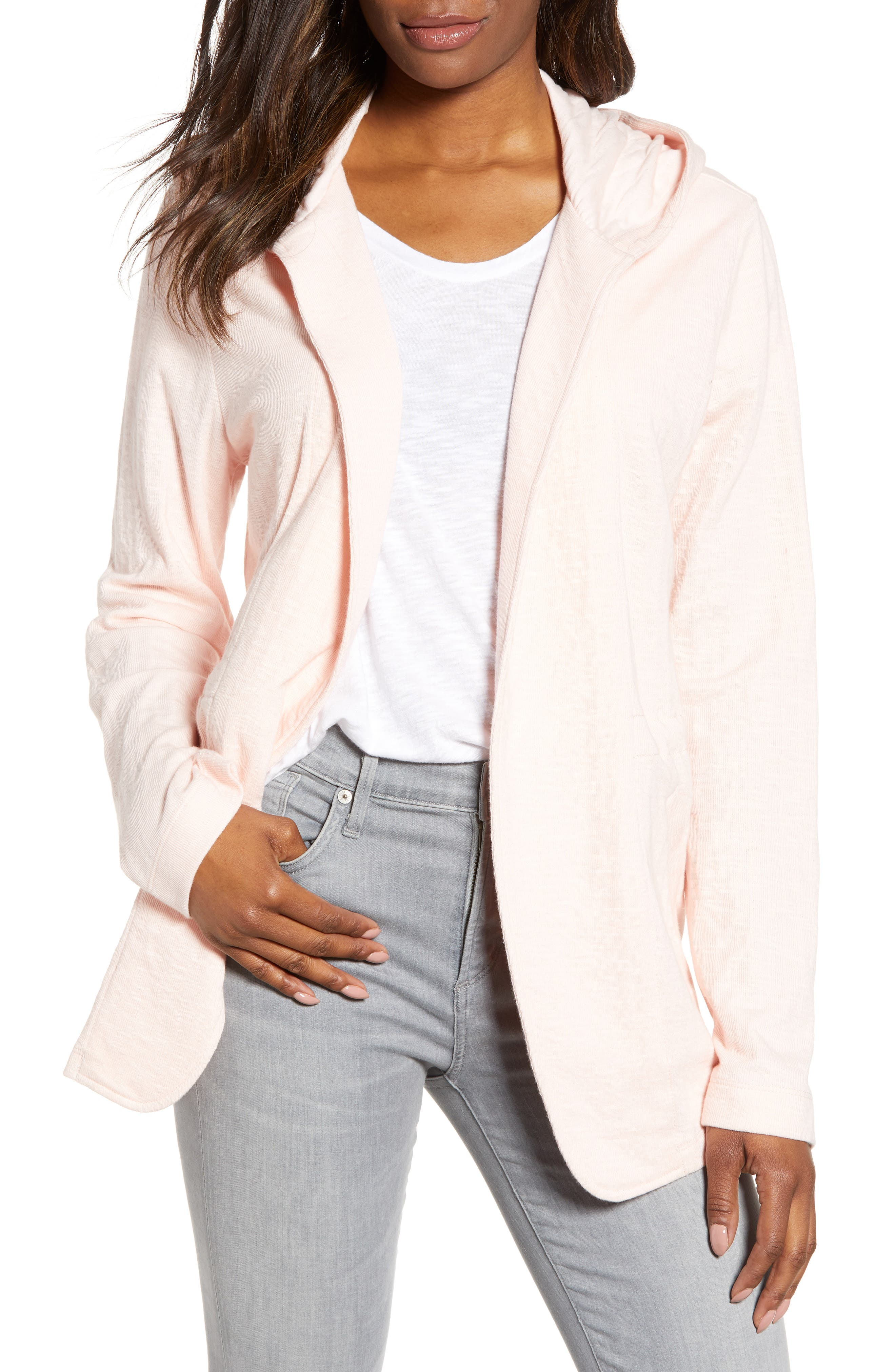 ,                             Open Front Hooded Cardigan,                             Main thumbnail 24, color,                             680