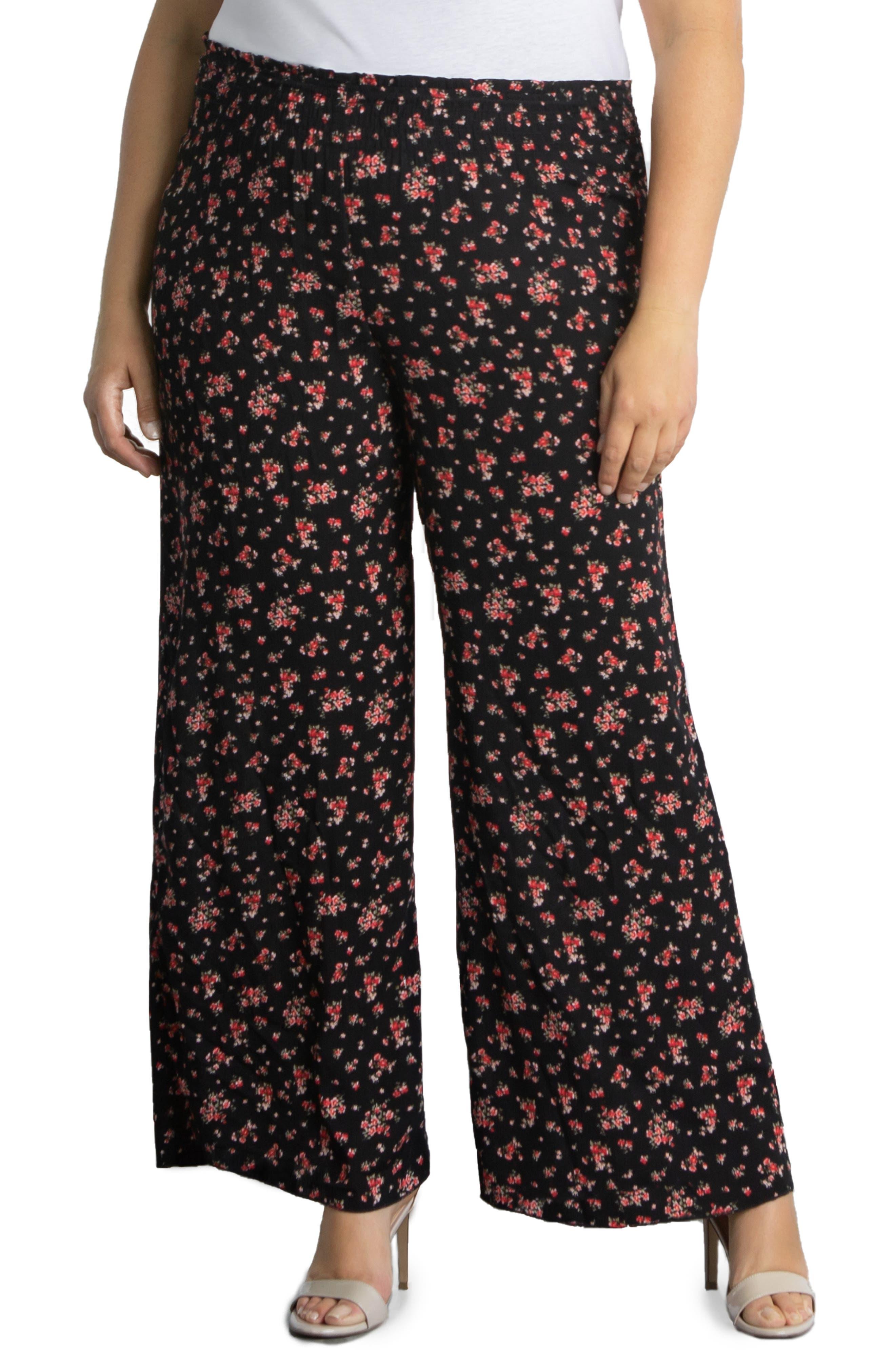 Kora Floral Wide Leg Pants