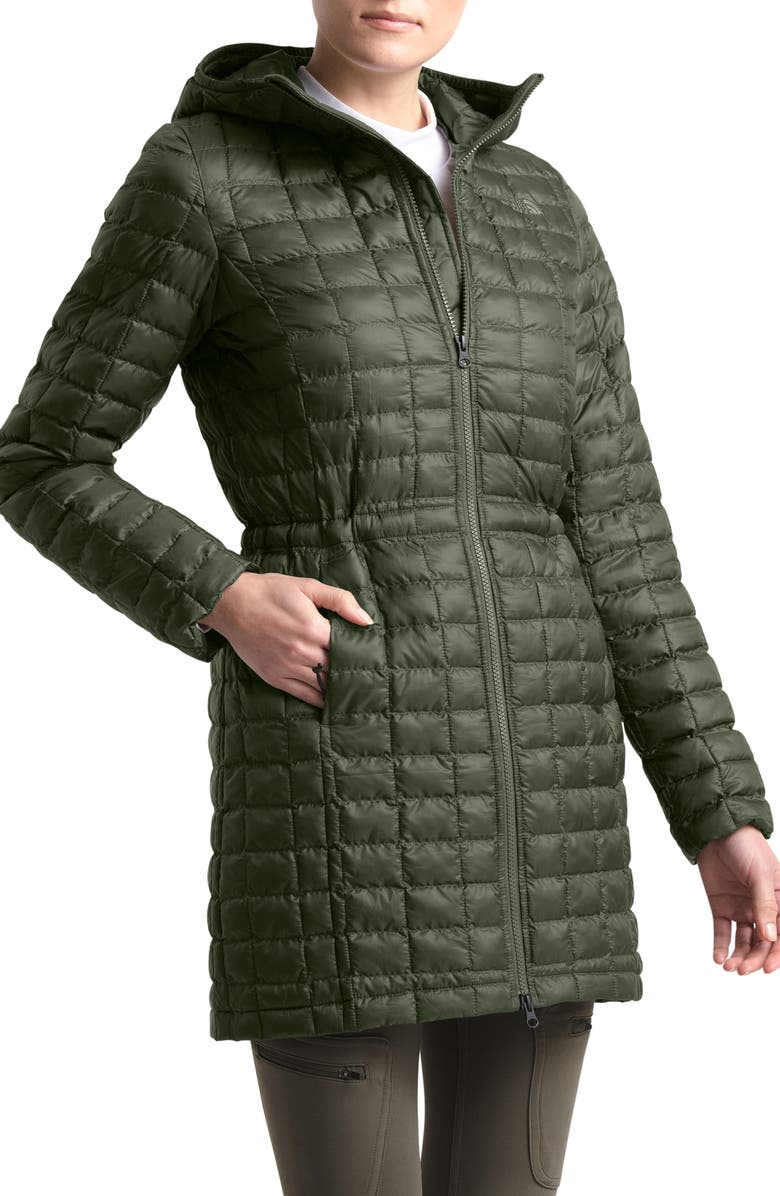 THE NORTH FACE ThermoBall<sup>™</sup> Eco Hooded Parka, Main, color, NEW TAUPE GREEN