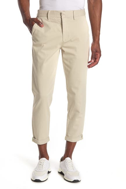 Image of Joe's Jeans Soder Solid Crop Trouser Pants