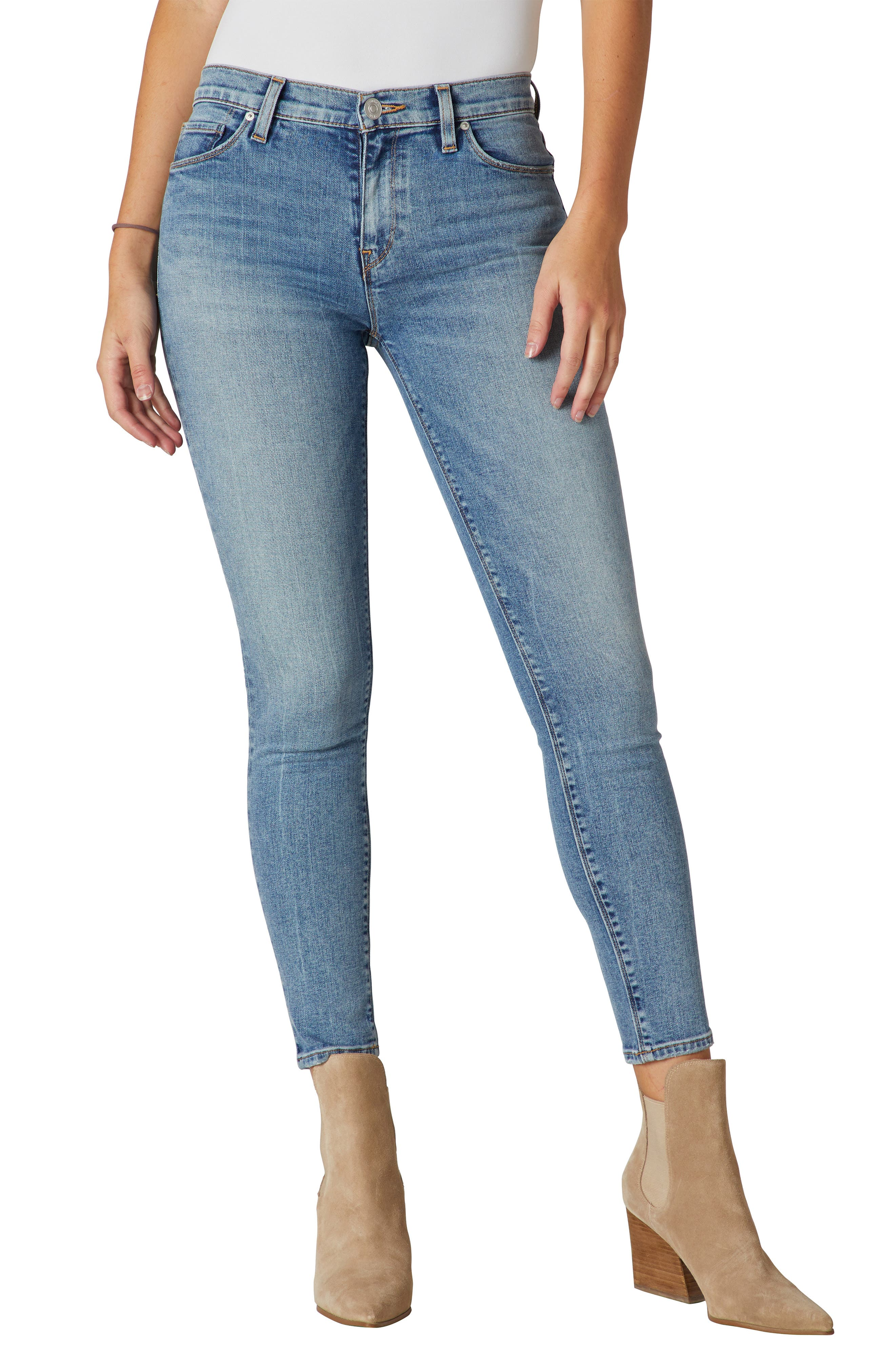 Nico Mid Rise Ankle Skinny Jeans