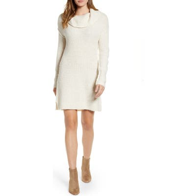 Calson Cozy Links Long Sleeve Sweater Dress