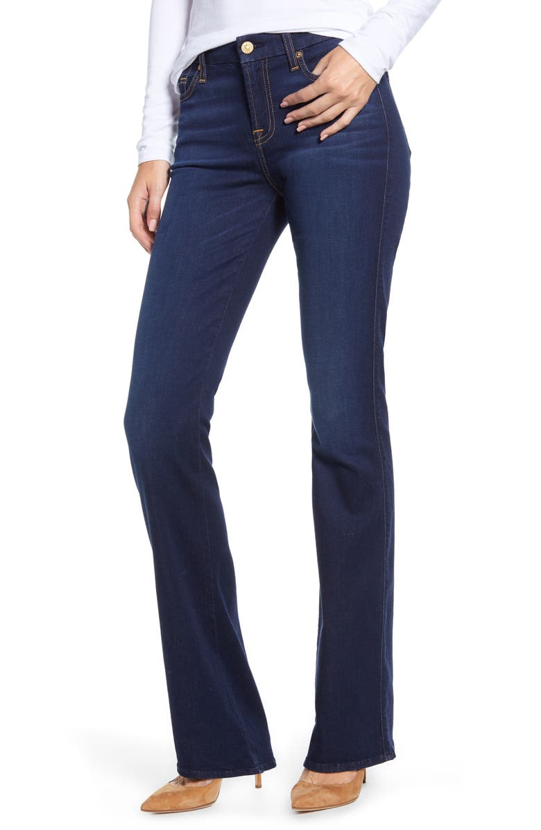 7 FOR ALL MANKIND<SUP>®</SUP> 'Slim Illusion Luxe - Kimmie' Bootcut Jeans, Main, color, SLIM ILLUSION LUXE TRIED
