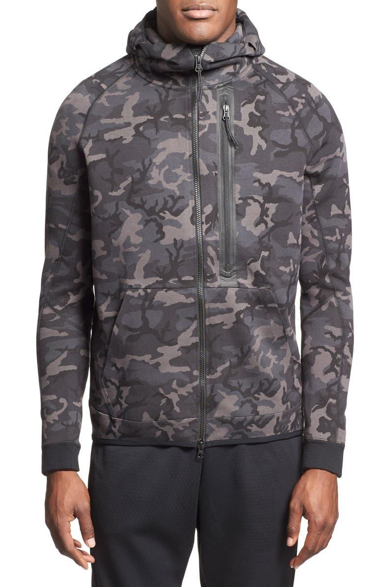 Nike Tech Fleece Sweatshirt grey camouflage