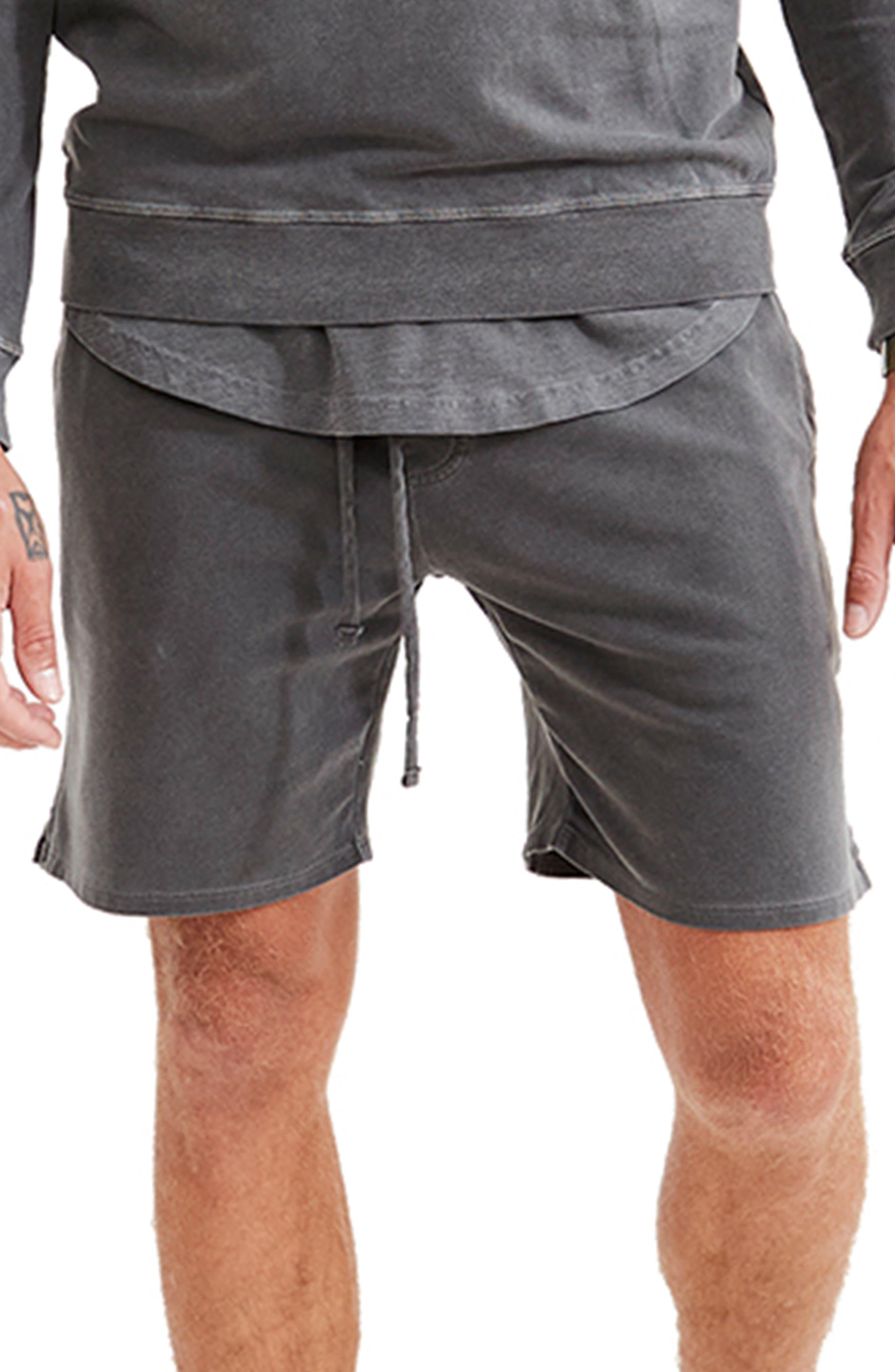 Sun Faded Stretch Cotton Shorts