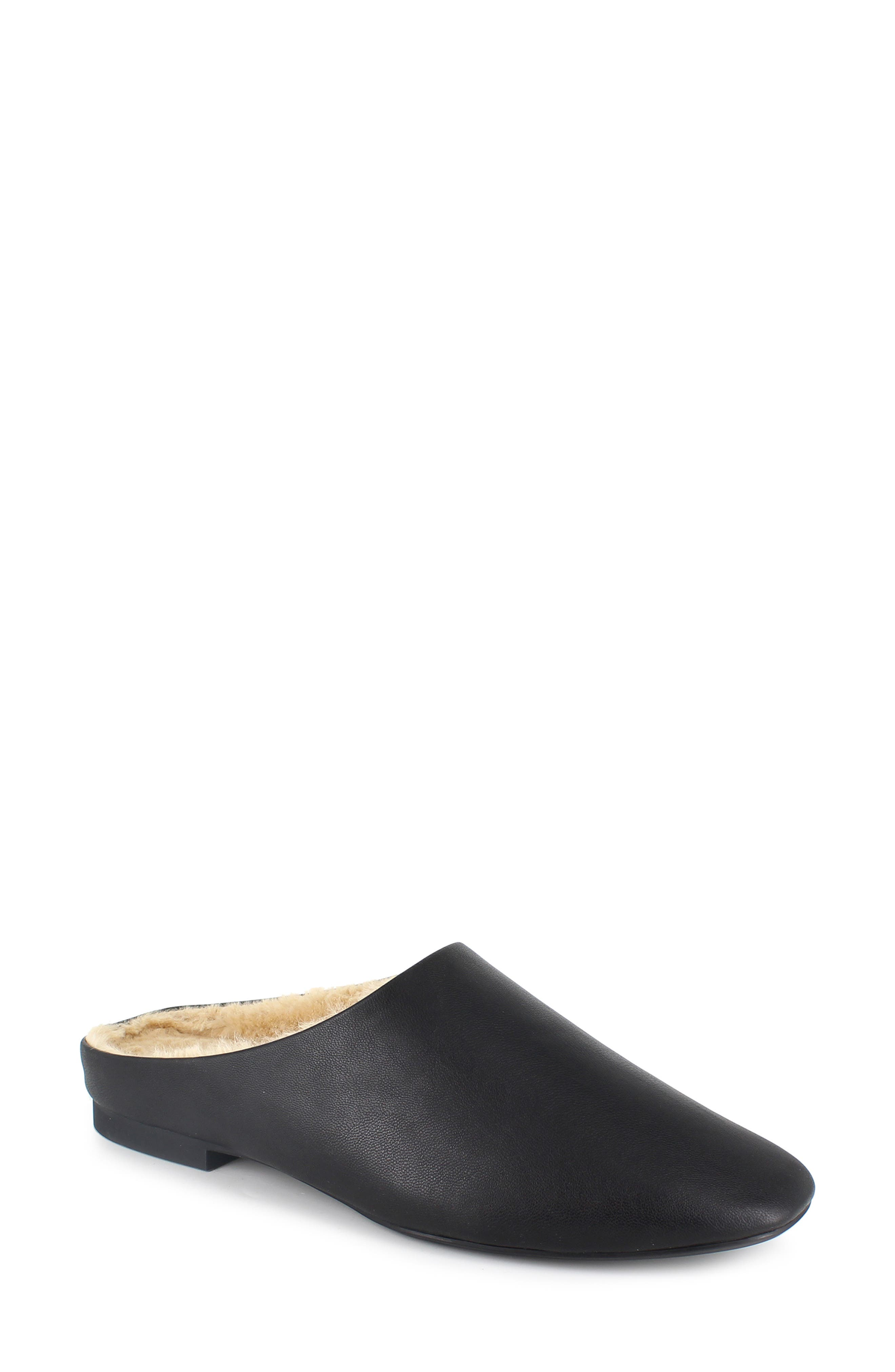 Nathaly Faux Shearling Lined Mule