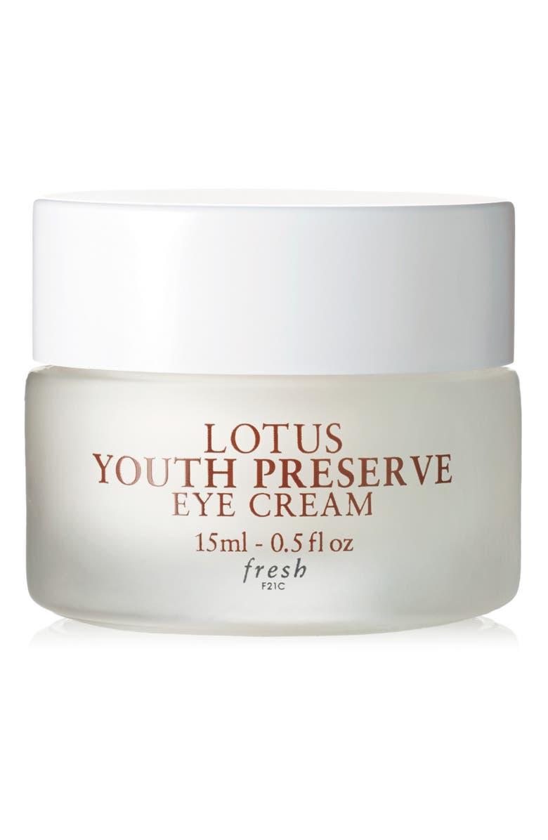 FRESH<SUP>®</SUP> Lotus Youth Preserve Eye Cream, Main, color, NO COLOR