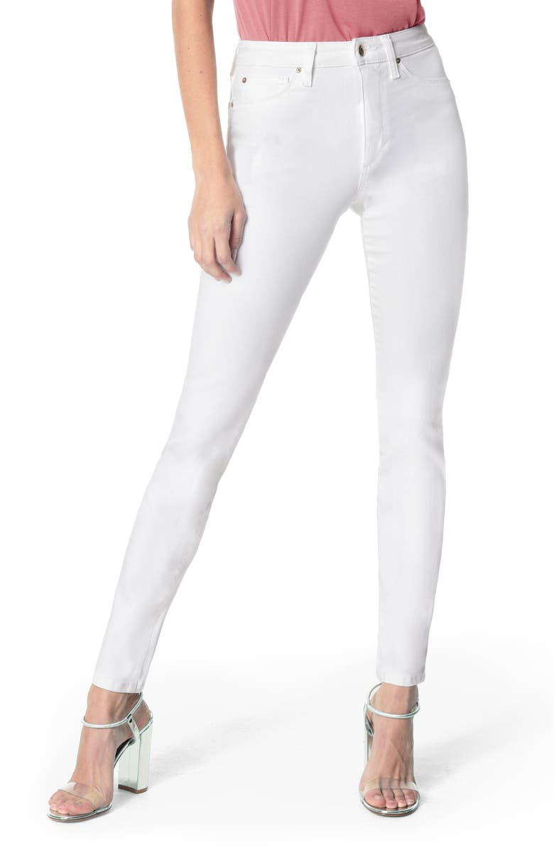JOE'S Charlie High Waist Ankle Skinny Jeans, Main, color, HENNIE