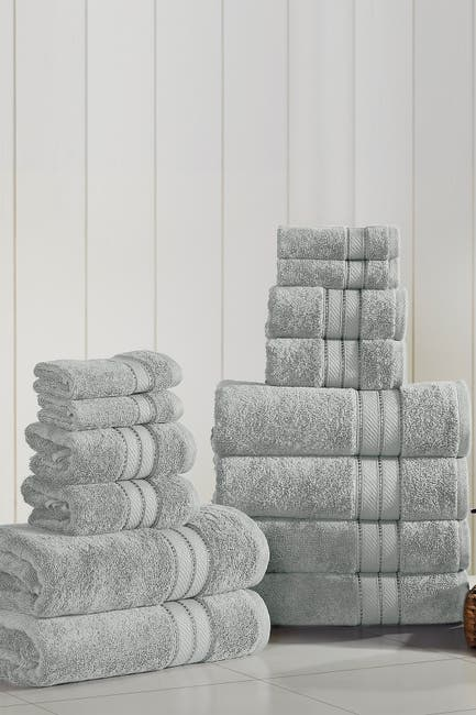 Image of Modern Threads SpunLoft 18-Piece Towel Set - Gray