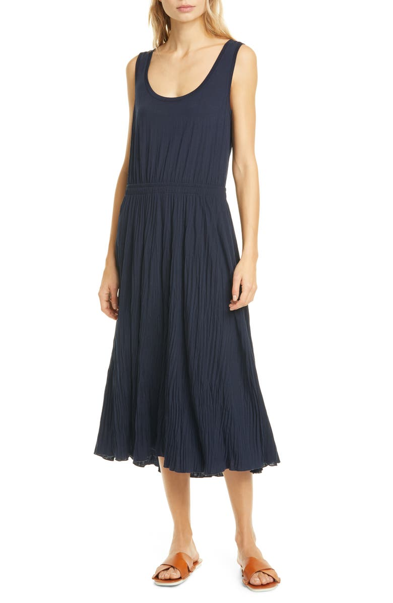VINCE Scoop Neck Tank Dress, Main, color, 403