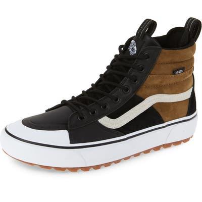 Vans Sk8-Hi Mte 2.0 Dx Water Resistant High Top Sneaker- Black