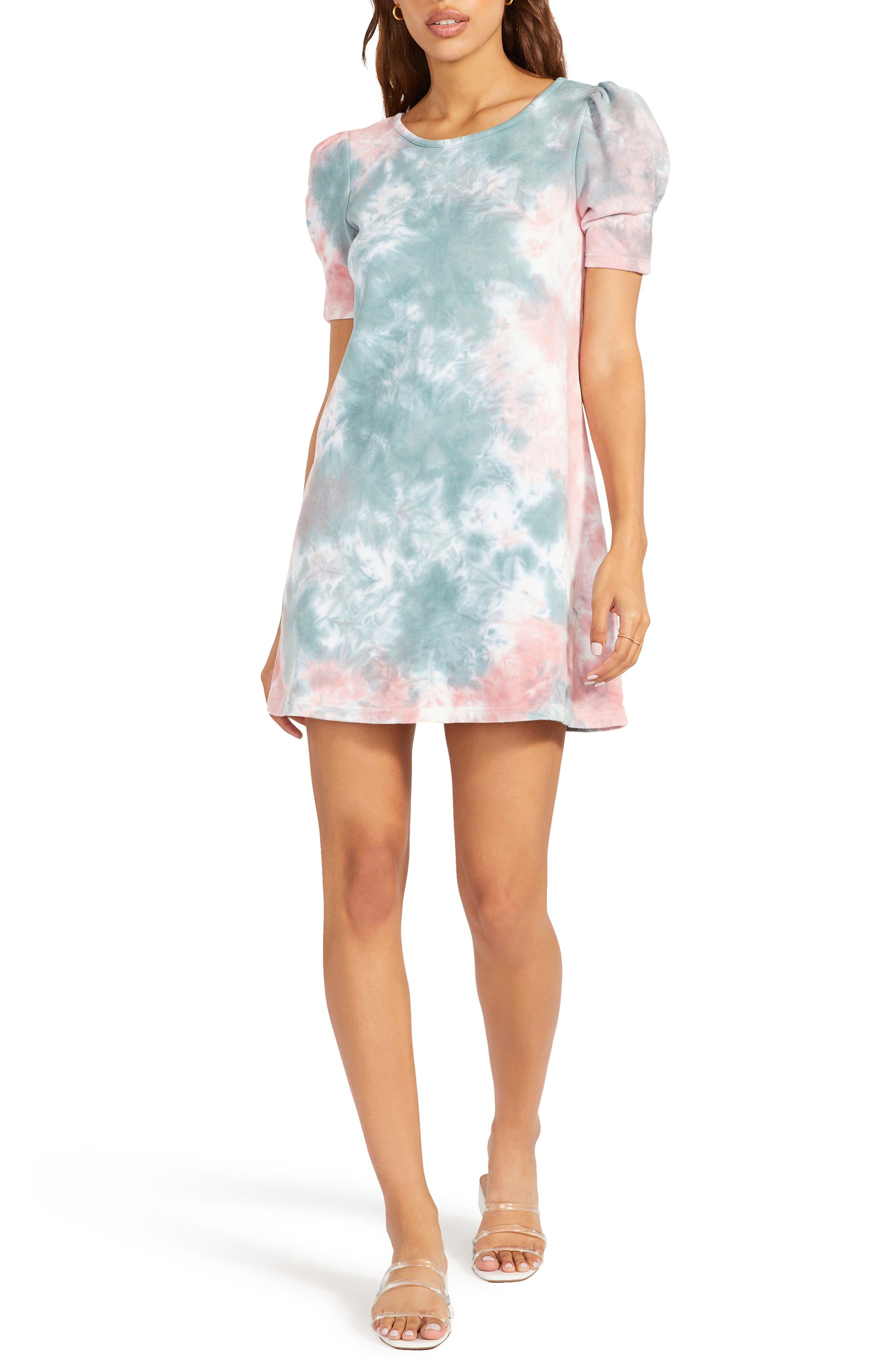 Cosmic Girl Tie Dye Minidress