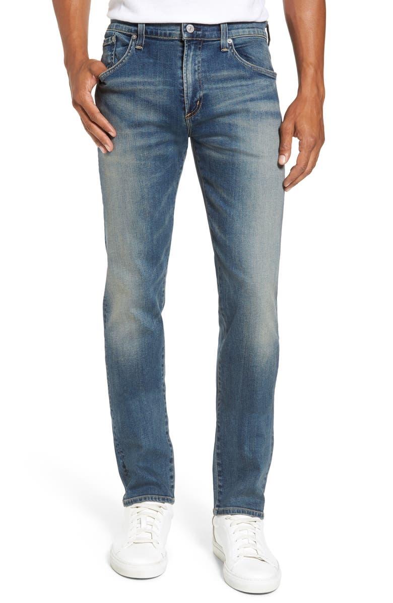 CITIZENS OF HUMANITY Core Slim Straight Leg Jeans, Main, color, MILLAIS