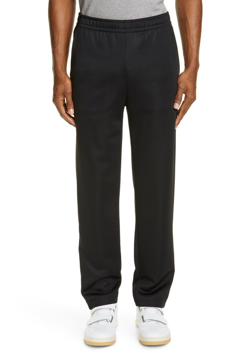 ACNE STUDIOS Emmett Face Slim Fit Athletic Dress Pants, Main, color, BLACK