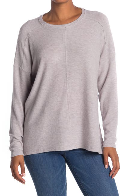 Image of H By Bordeaux Center Seam Hacci Knit Pullover