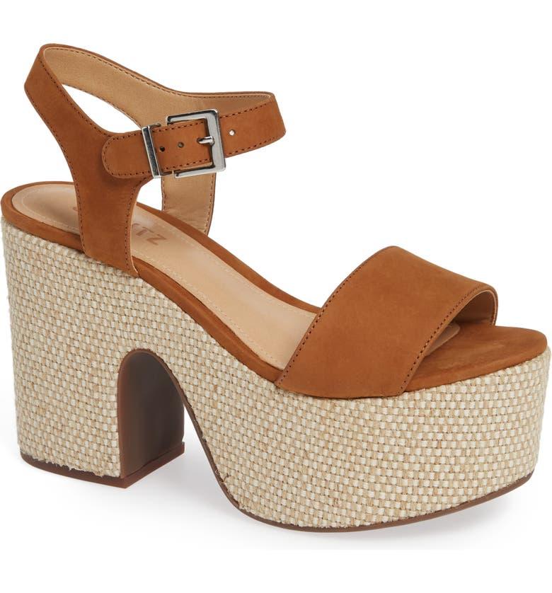 SCHUTZ Glorya Platform Sandal, Main, color, 200