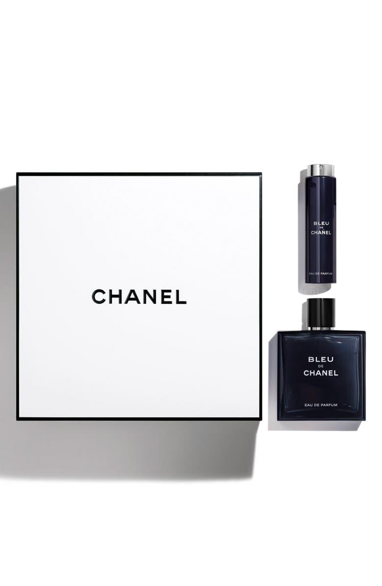 CHANEL BLEU DE CHANEL <br />Eau de Parfum pour Homme Travel Spray Set, Main, color, 000