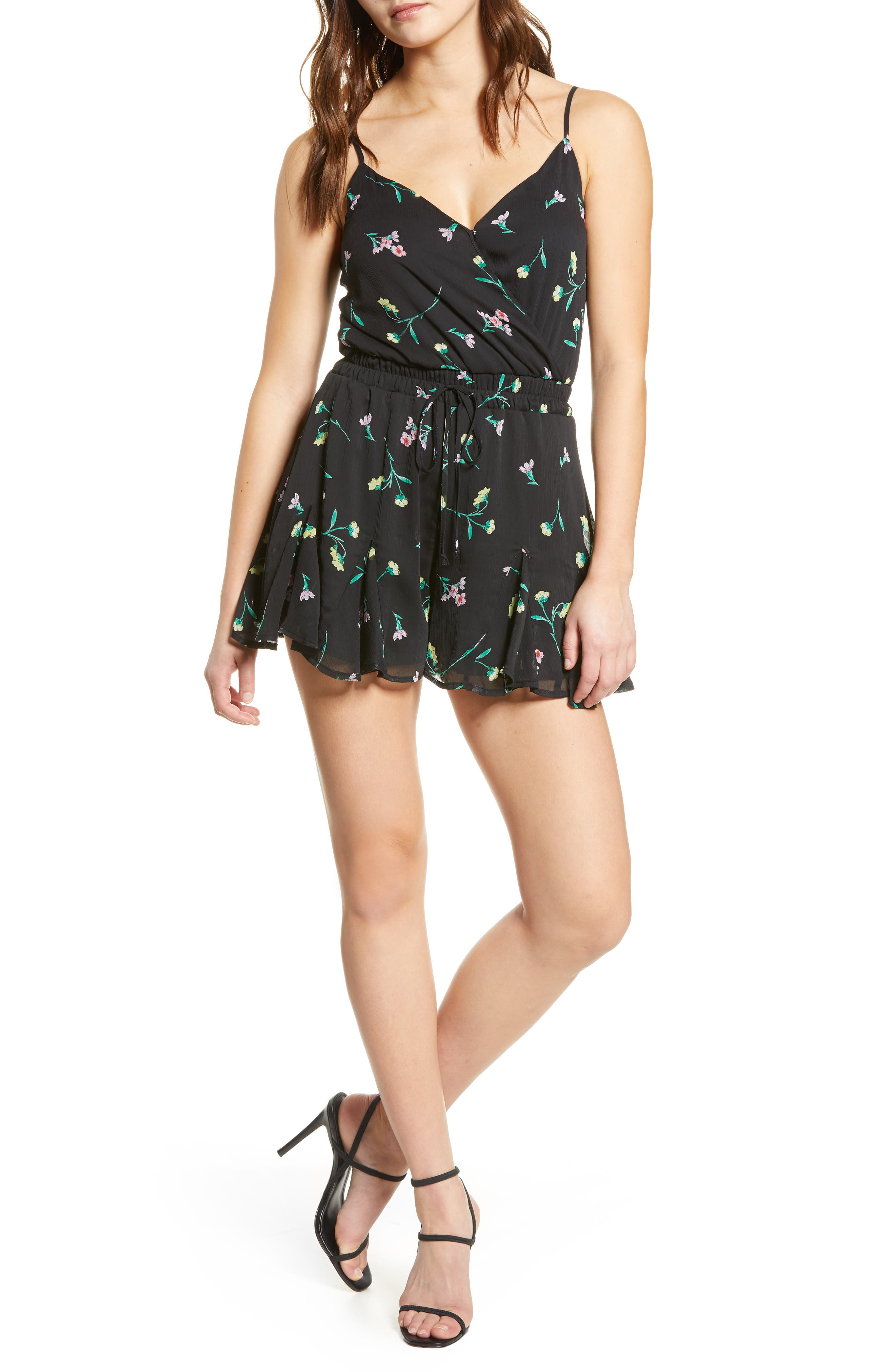 ROW A Waisted Romper