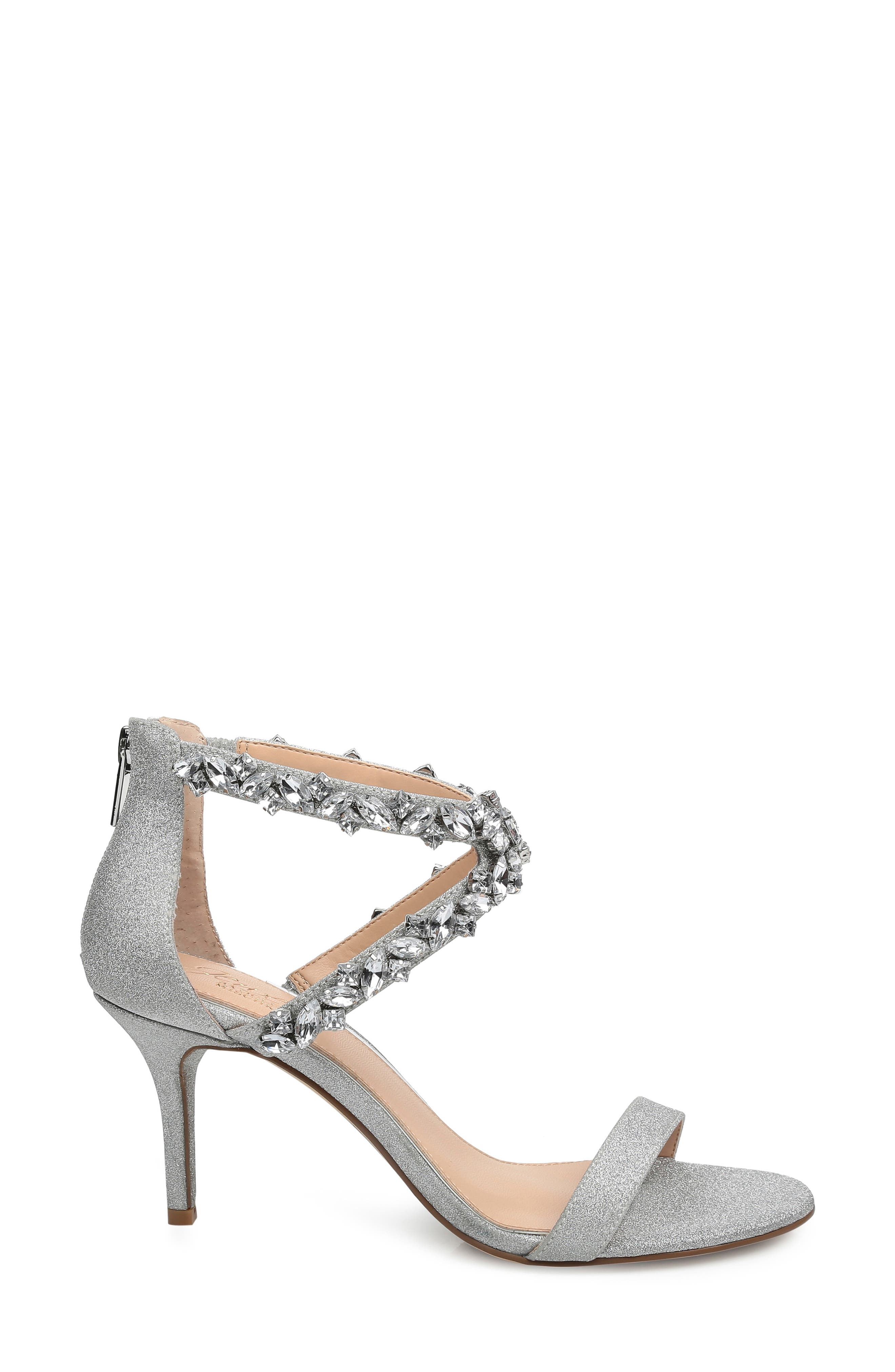 ,                             Jaylee Sandal,                             Alternate thumbnail 3, color,                             SILVER SATIN