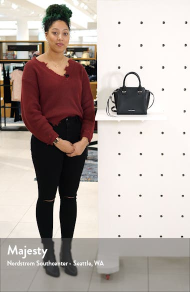 Mini Avery Leather Tote, sales video thumbnail
