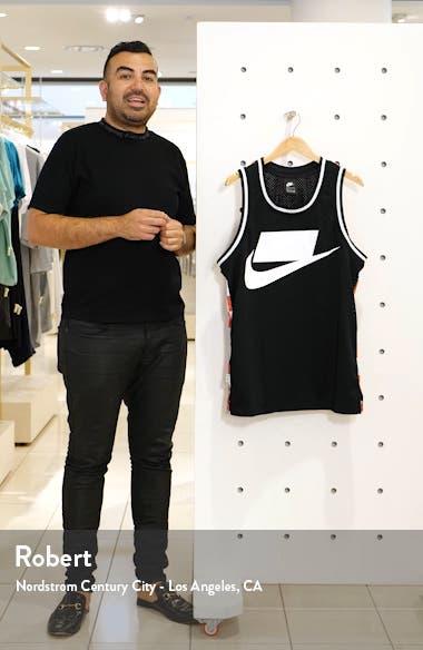 Sportswear Check Logo Print Mesh Tank, sales video thumbnail