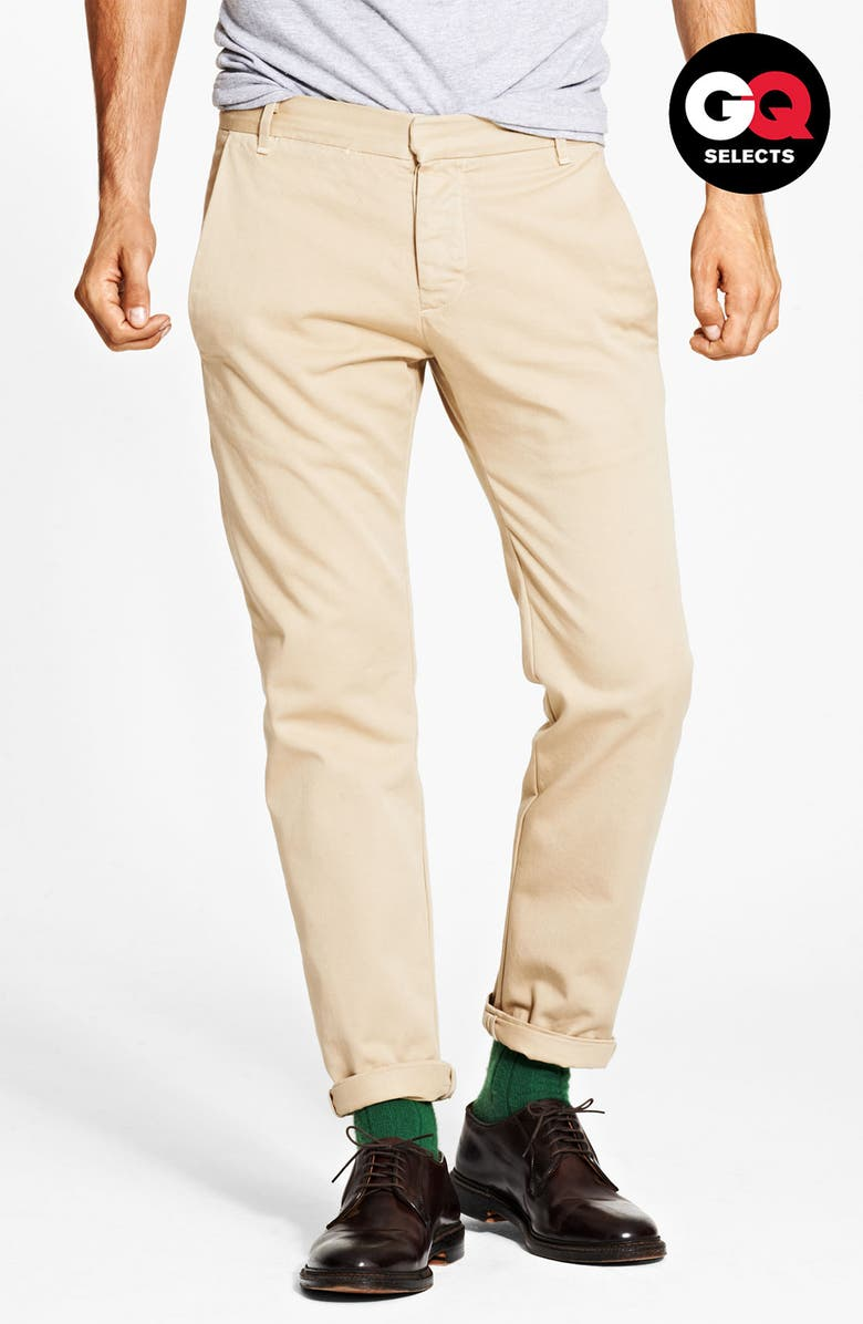 BAND OF OUTSIDERS Slim Fit Classic Chinos, Main, color, 250