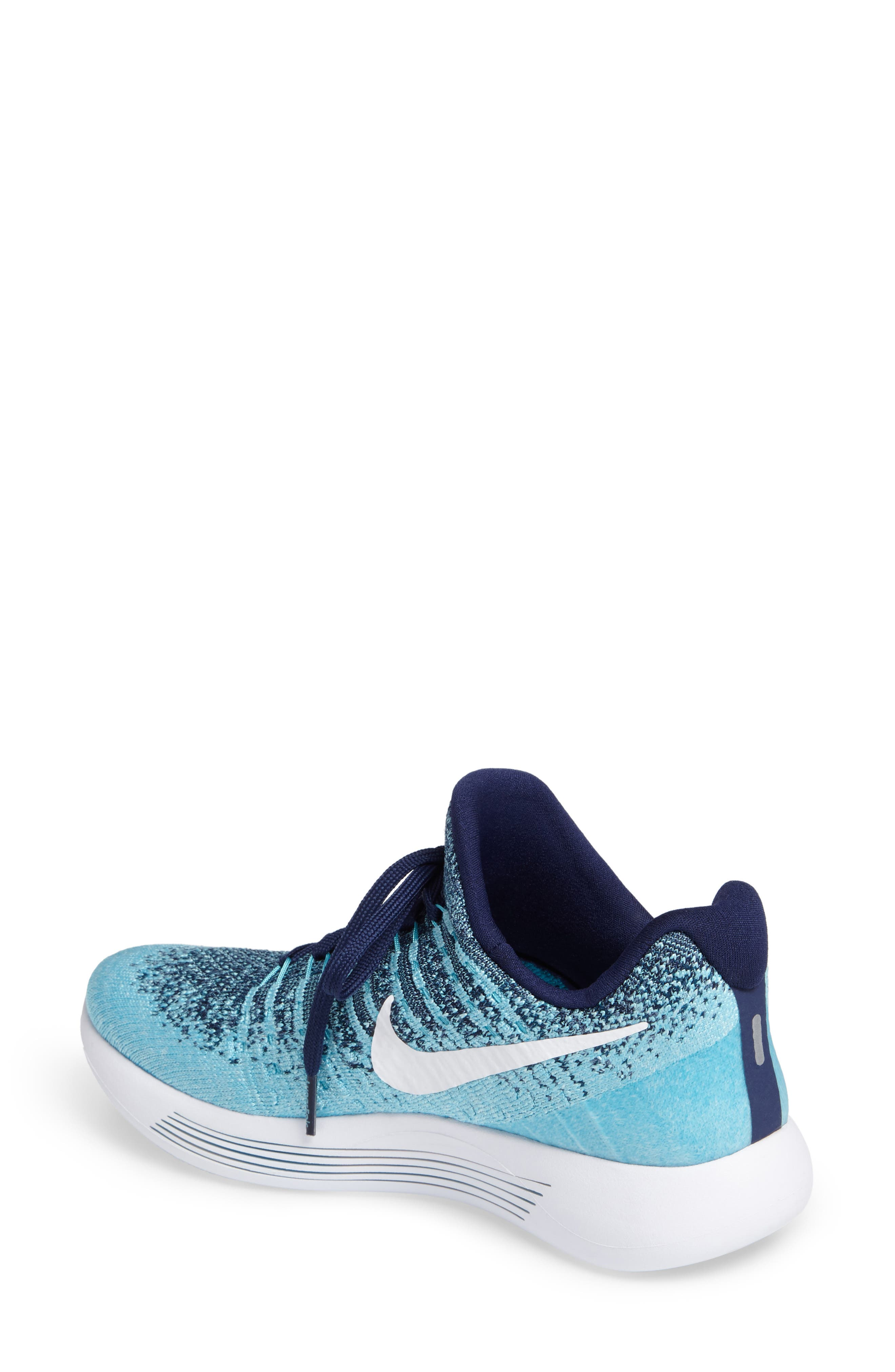 ,                             LunarEpic Low Flyknit 2 Running Shoe,                             Alternate thumbnail 72, color,                             402