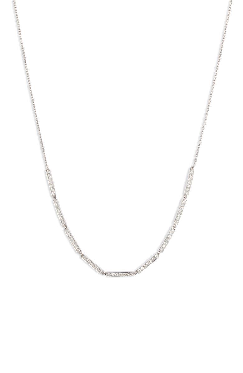 BONY LEVY Bardot Diamond Choker, Main, color, WHITE GOLD/ DIAMOND