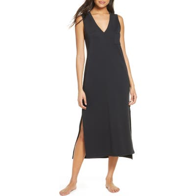 UGG Jaydn French Terry Nightgown, Black