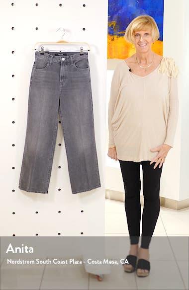 Joan High Waist Crop Wide Leg Jeans, sales video thumbnail