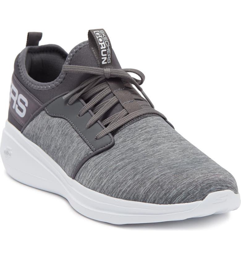 SKECHERS GOrun Fast-Alulight Sneaker, Main, color, GRAY