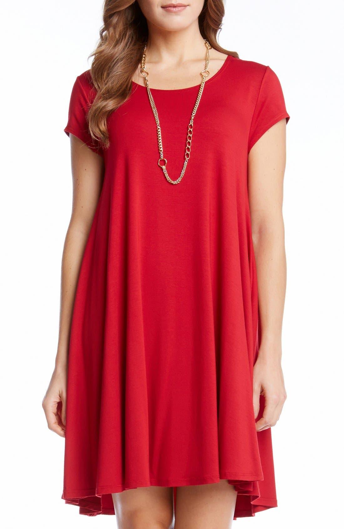 ,                             'Maggie' Cap Sleeve Trapeze Dress,                             Main thumbnail 23, color,                             600