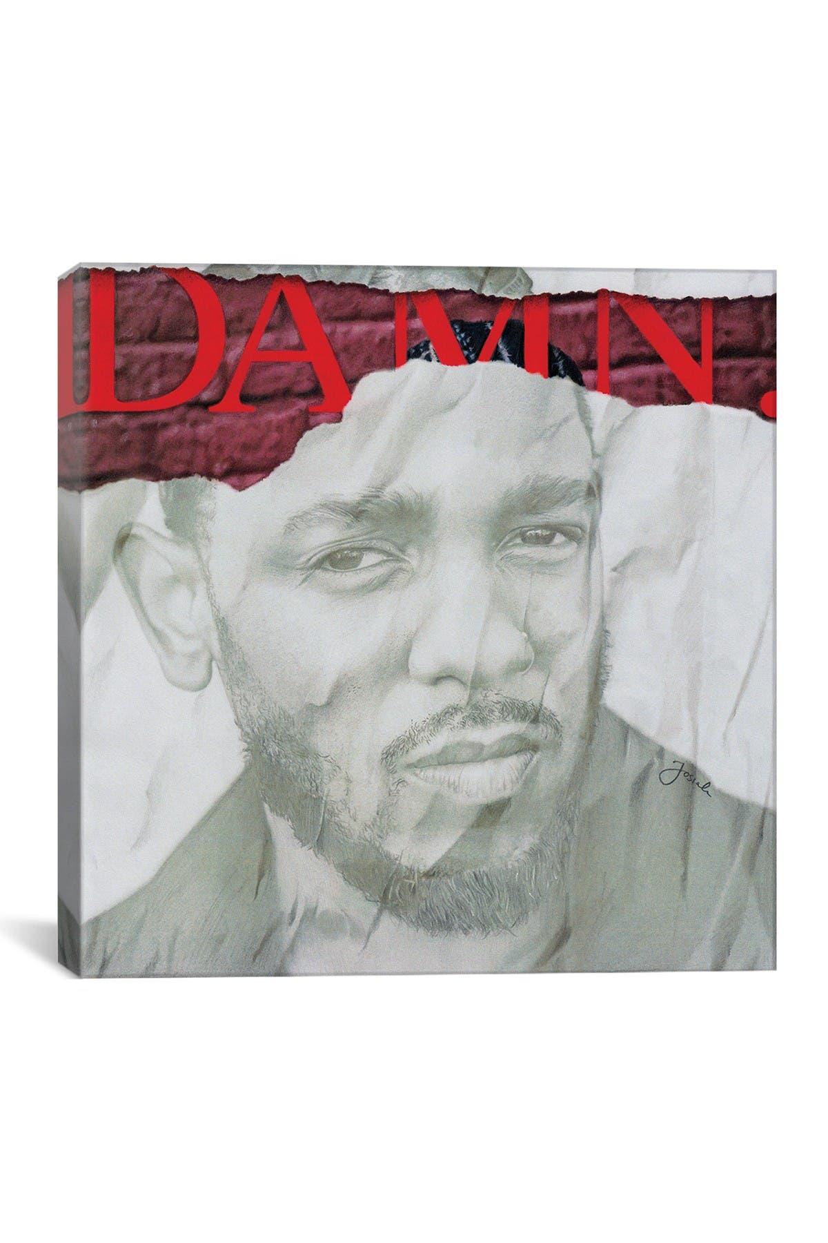 Image of iCanvas DAMN Remixed by Josiah Jones
