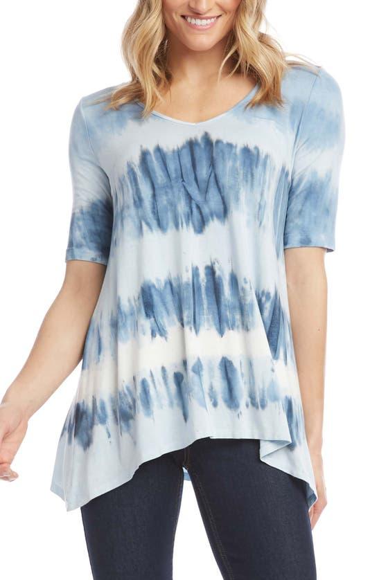 Karen Kane Oversized Tie-dyed T-shirt In Tie Dye