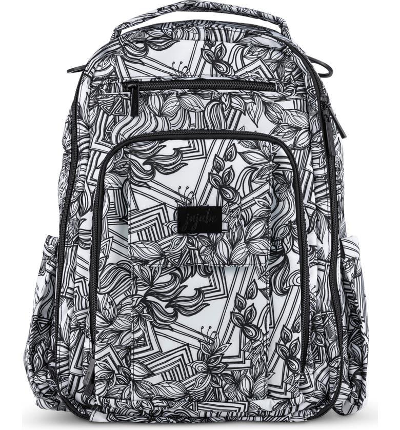 JU-JU-BE Be Right Back Diaper Backpack, Main, color, SKETCH