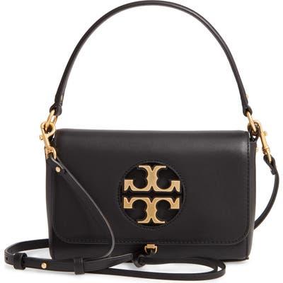 Tory Burch Mini Miller Leather Top Handle Bag - Black
