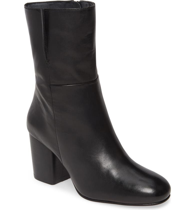 SEYCHELLES Wild Ride Boot, Main, color, BLACK LEATHER
