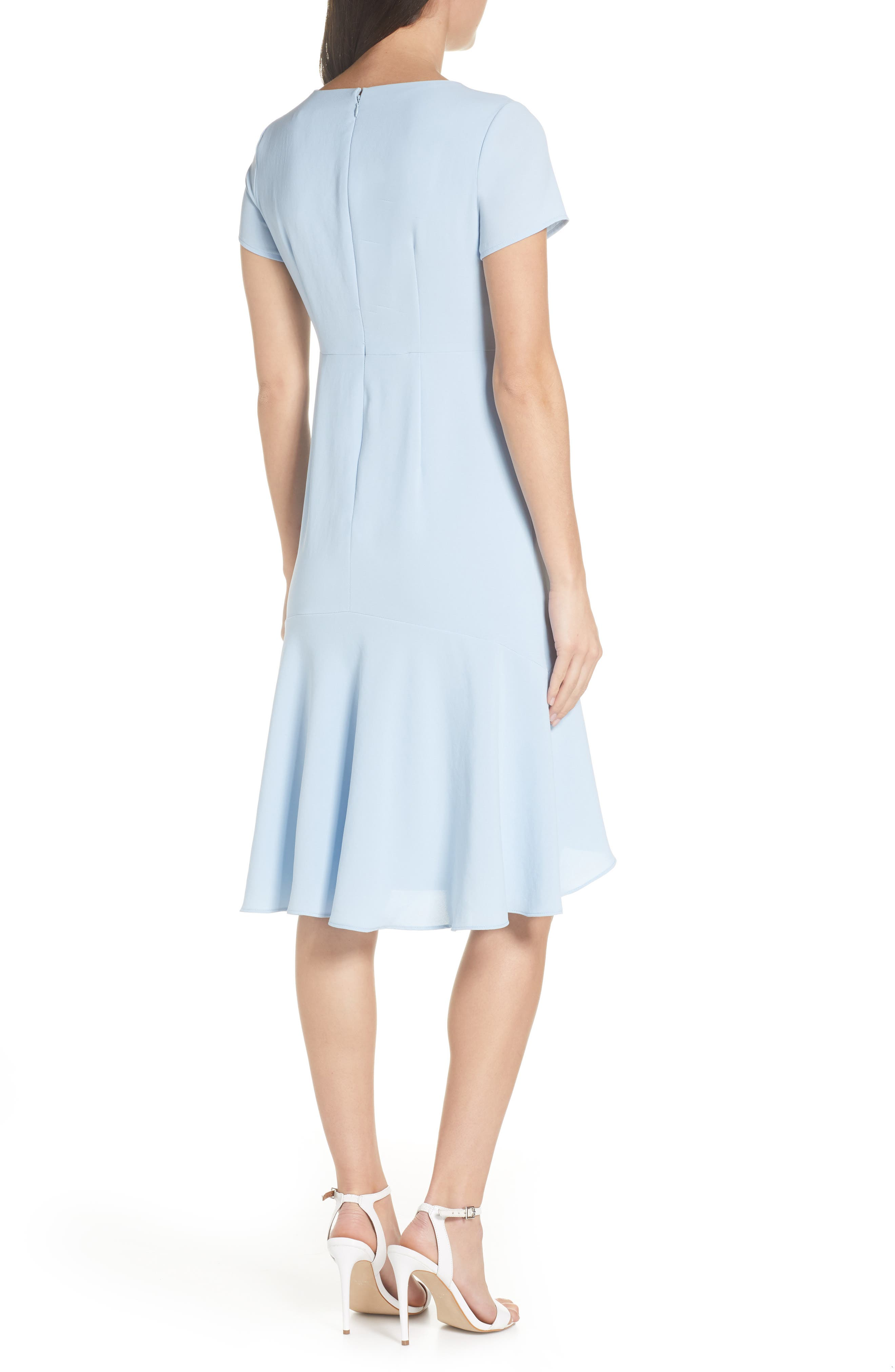 ,                             High/Low Sheath Dress,                             Alternate thumbnail 2, color,                             PALE BLUE