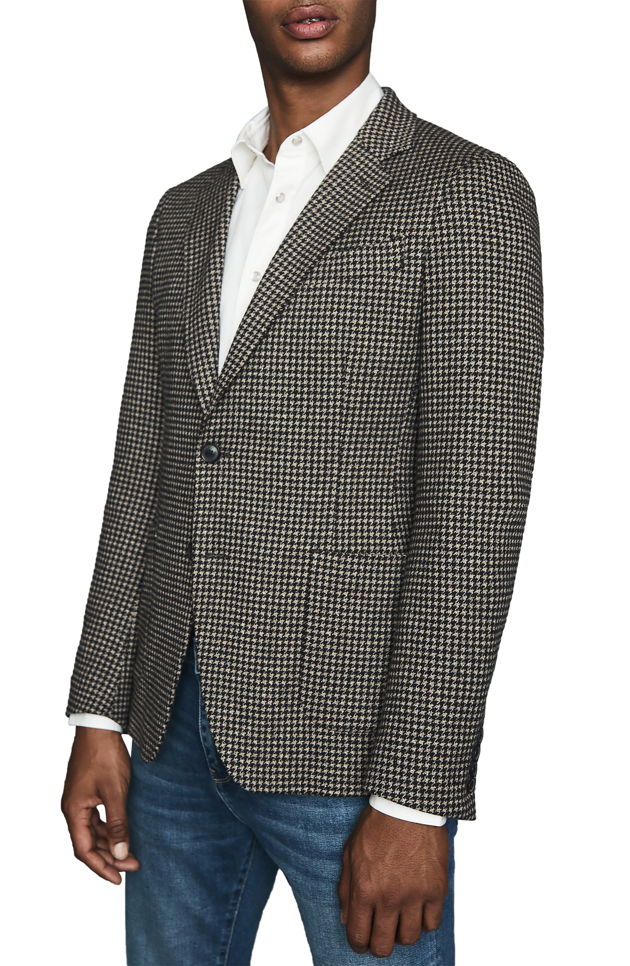 Image of REISS Pinot Slim Fit Sport Coat