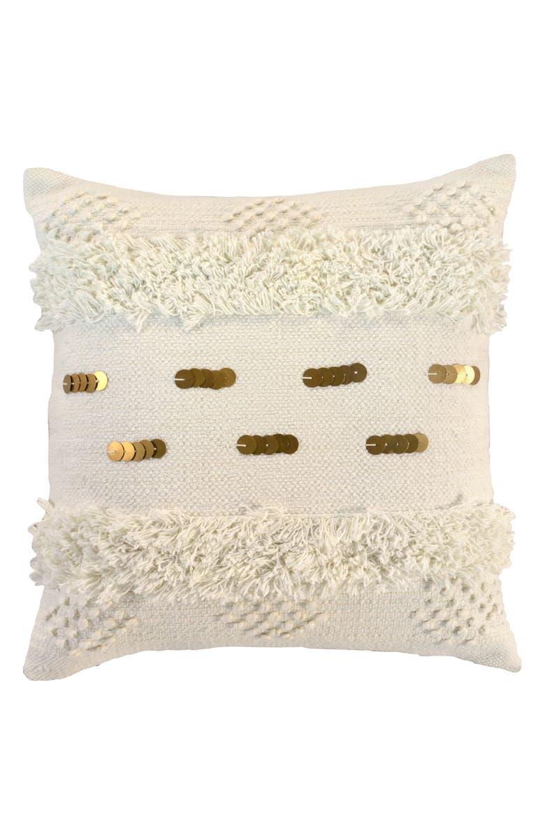 VILLA HOME COLLECTION Seine Accent Pillow, Main, color, 900