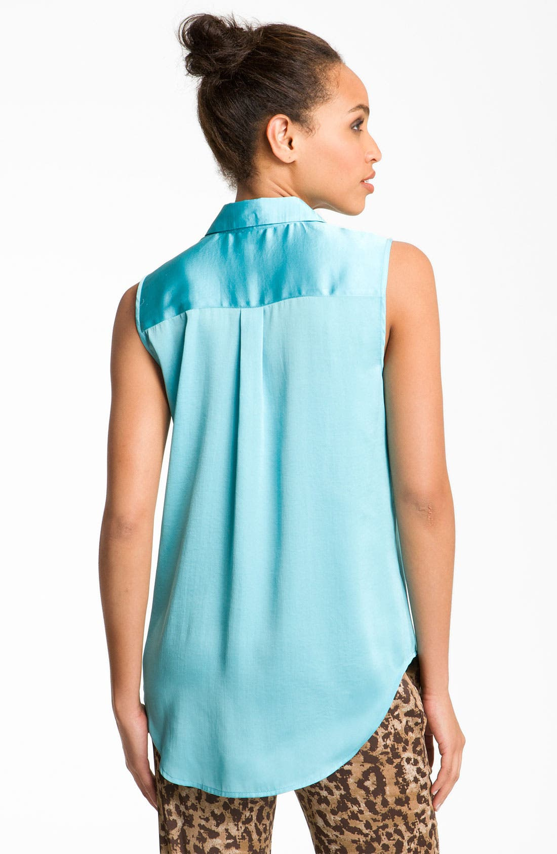 ,                             Sleeveless Shirt,                             Alternate thumbnail 3, color,                             440