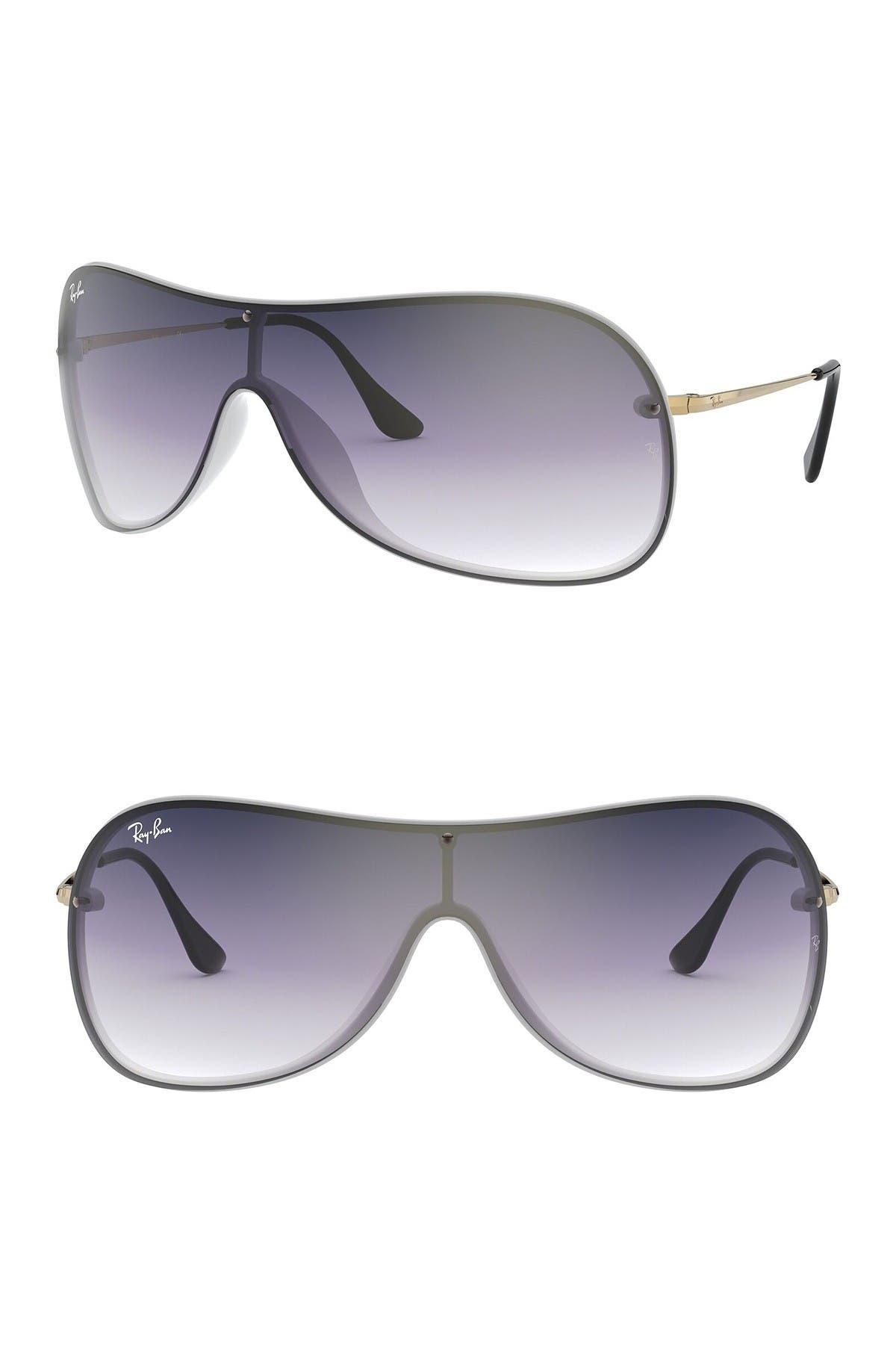 Image of Ray-Ban 141mm Gradient Shield Sunglasses