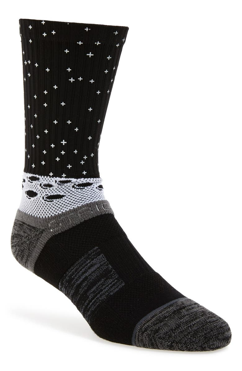 ff5106a4565ae STRIDELINE 'Man on the Moon' Socks | Nordstrom
